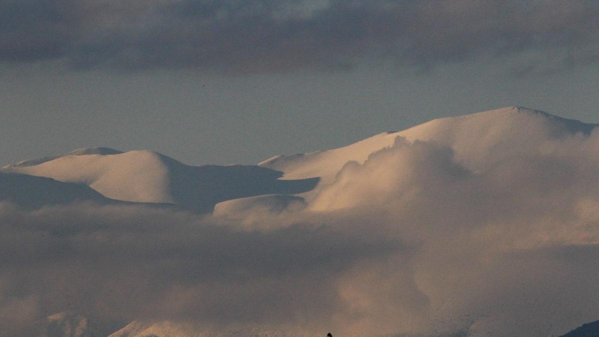 Βουνά Όλυμπος Κίσαβος Χιόνια