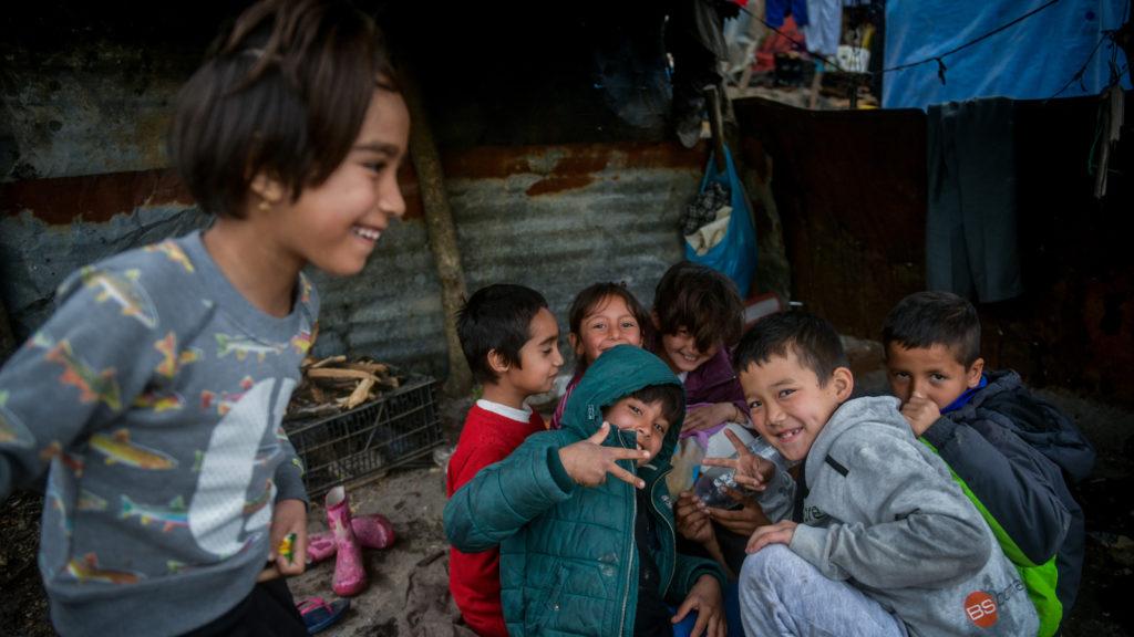 Παιδιά πρόσφυγες Λέσβο