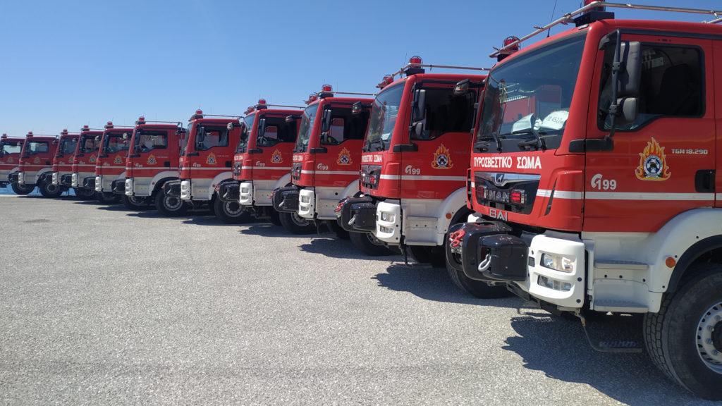 Πυροσβεστικές Υδροφόρες ΜΑΝ 5000τ