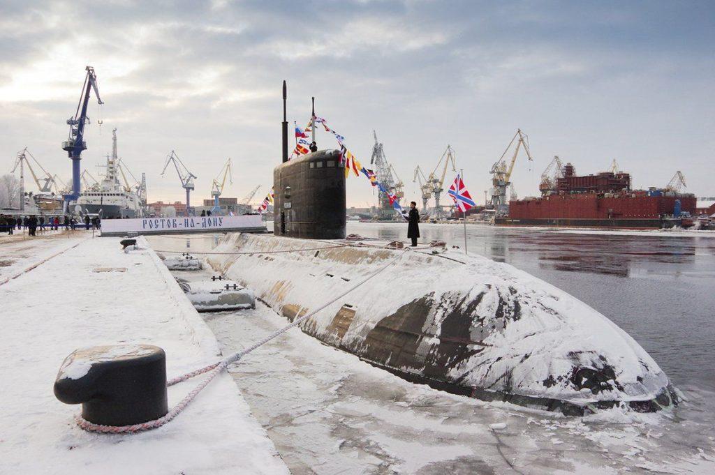 Ρώσικο υποβρύχιο Rostov on Don