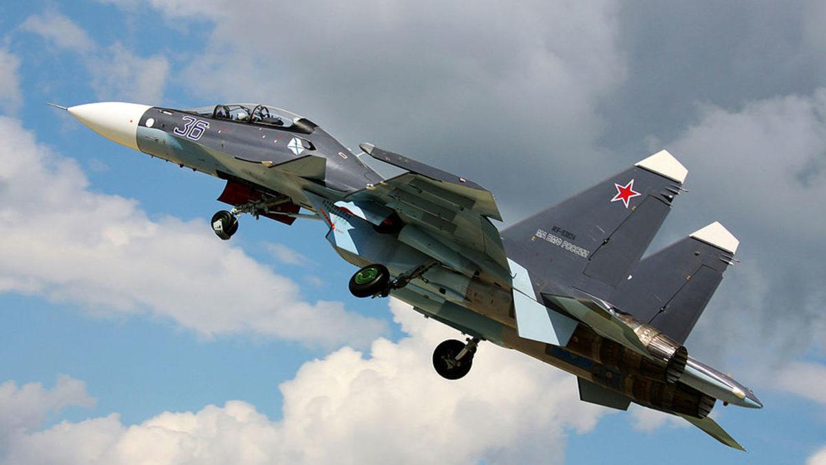 Ρωσικό Μαχητικό Αεροσκάφος τύπου τύπου Sukhoi-30