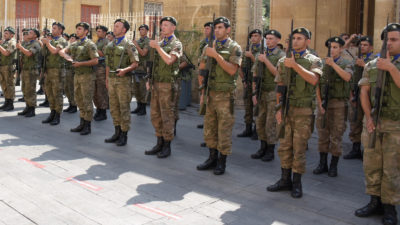 Στρατιώτες της Εθνικής Φρουράς της Κύπρου