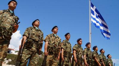 Στρατιώτες στο Καστελόριζο
