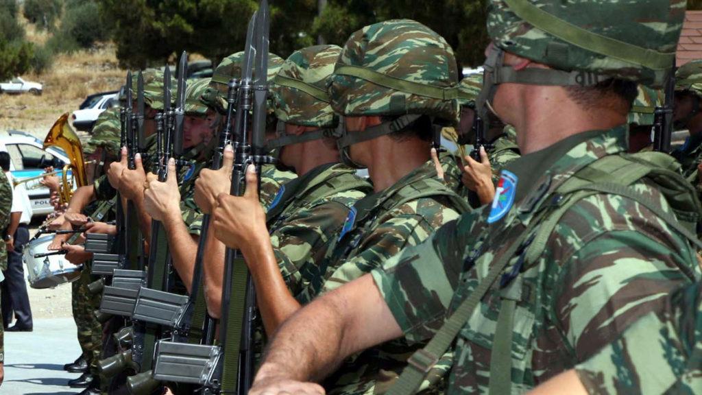 Στρατιώτες στη Σάμο
