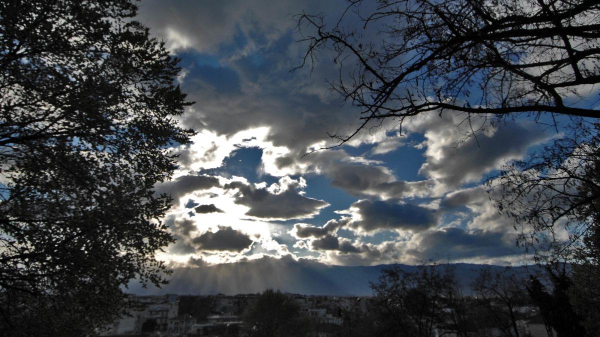 Καιρός - Συννεφιά στην Αττική
