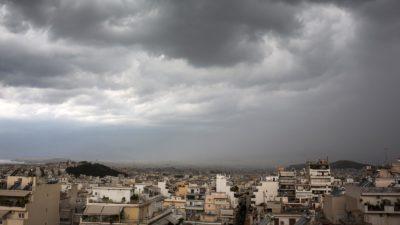 Αθήνα συνοικίες κακοκαιρία