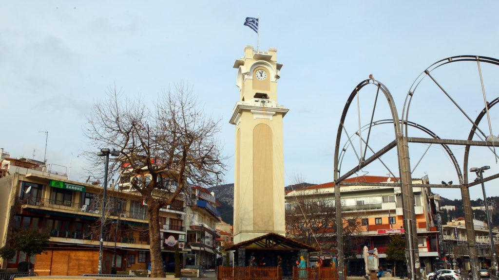Πλατεία Ξάνθη Ρολόι