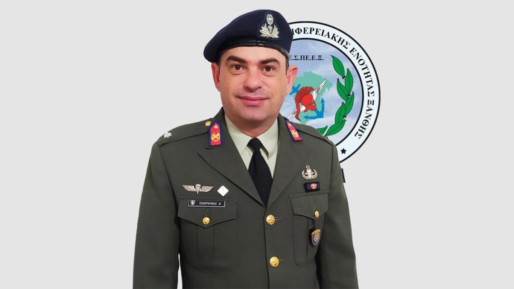 Τσαπρούνης Βάιος, Προέδρος της Ένωσης Στρατιωτικών Περιφερειακής Ενότητας Ξάνθης