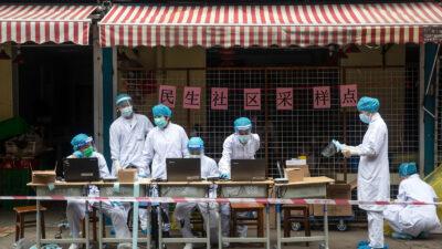 Κορονοϊός-Τεστ στη Wuhan-Κίνα