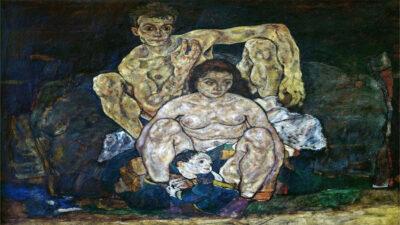 Πίνακας Egon Schiele Η οικογένεια