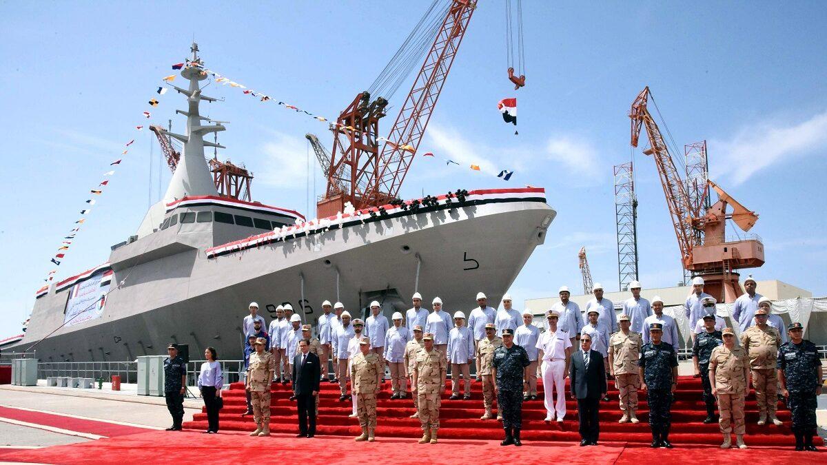 Αιγυπτιακό Ναυτικό Κορβέτα LUXOR