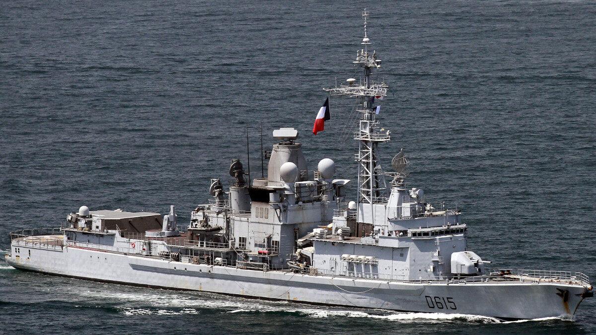 Γαλλική Φρεγάτα Jean Bart-πλοίο