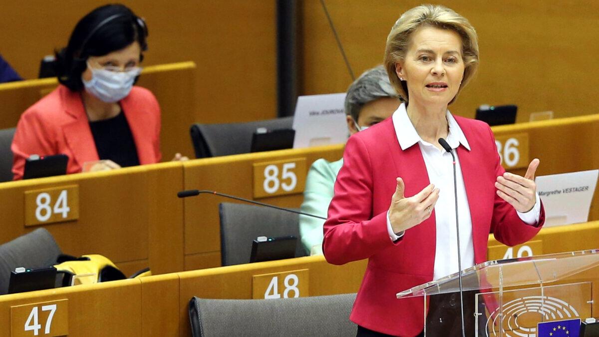 Ούρσουλα φον ντερ Λάγεν- ΕΕ
