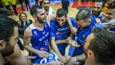 Μπασκετ Εθνικη Ελλάδος