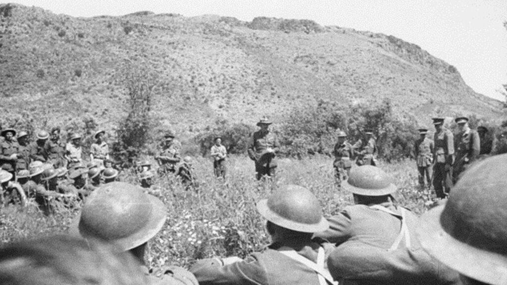 Β'ΠΠ - Μάχη της Κρήτης - στρατηγός Φράιμπεργκ