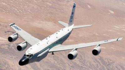 Αμερικανικό κατασκοπευτικό Boeing rc-135v