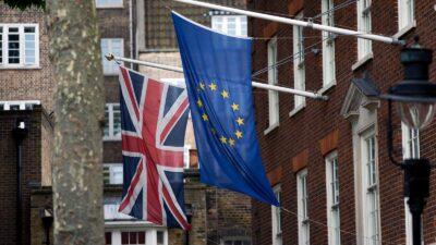Σημαίες Βρετανίας Ευρωπαϊκής Ένωσης