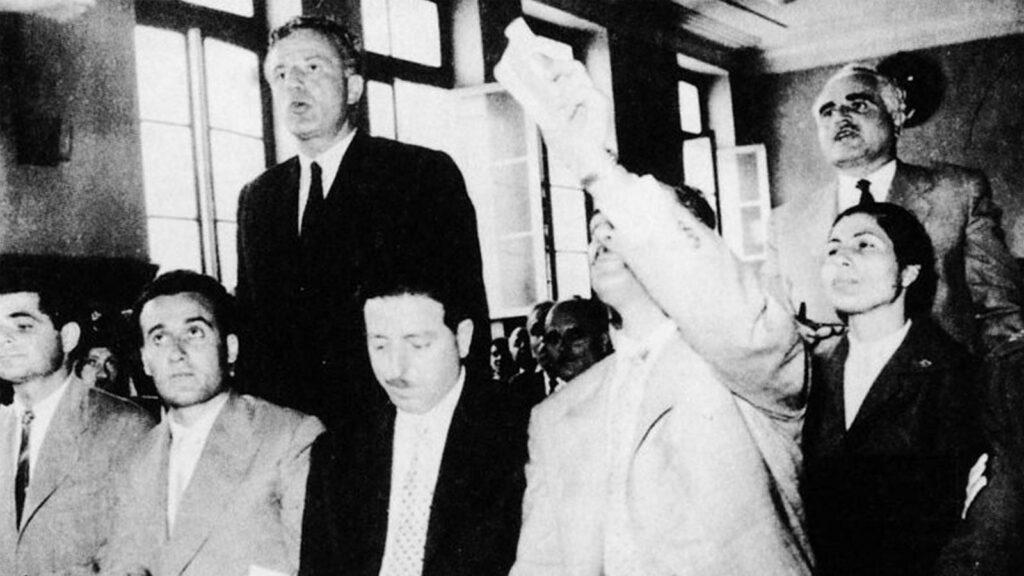 Μετεμφυλιακό κράτος - Κυβέρνηση Καραμανλή - Δίκες κατά ΚΚΕ, 1960