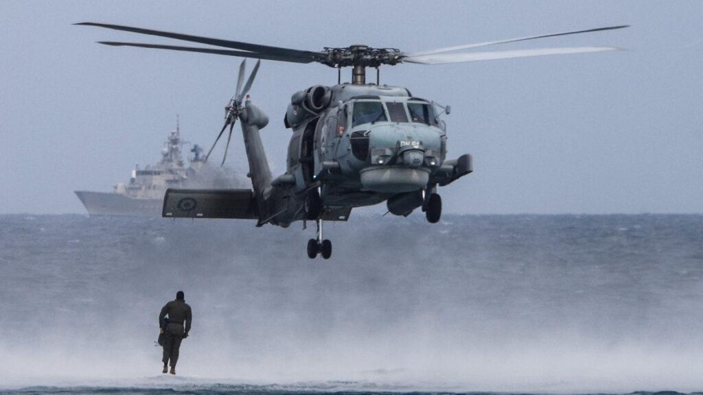 Ελικόπτερο Πολεμικού Ναυτικού Aegean Hawk
