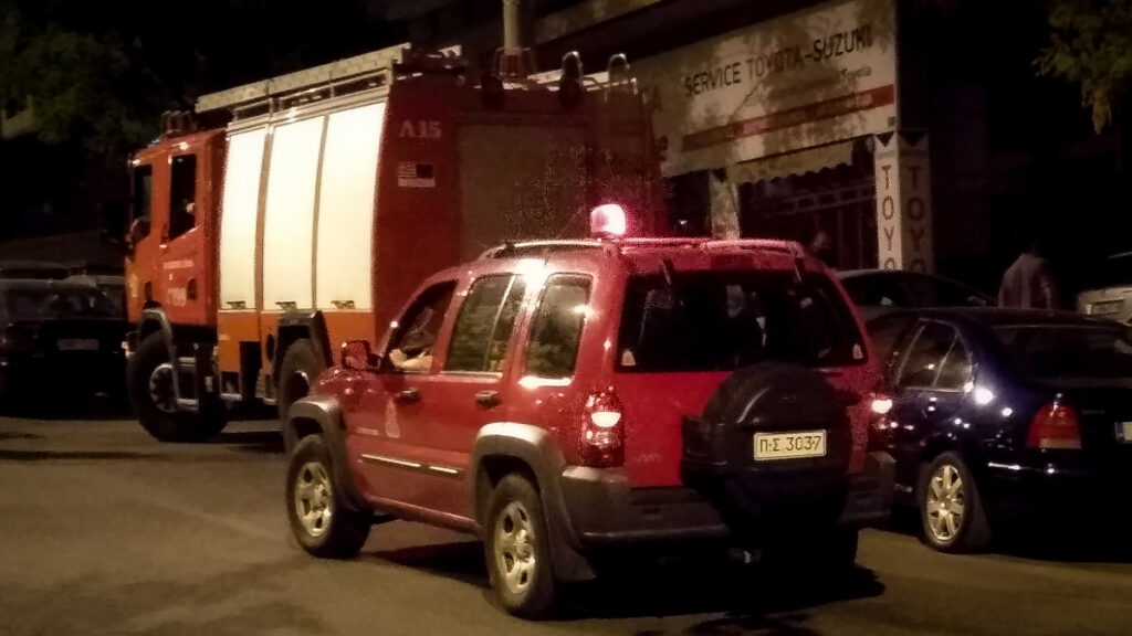 Κλίση της Πυροσβεστικής για βόμβα στου Γκύζη
