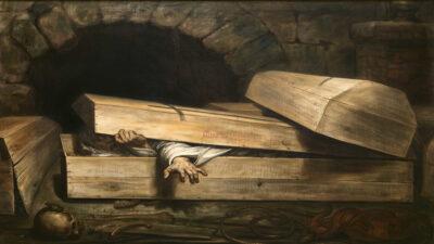 Αντουάν Βιρτζ, Η πρόωρη ταφή