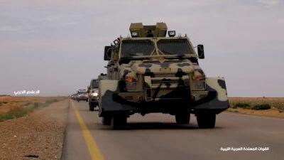 Λιβύη - Μηχανοκίνητες Δυνάμεις του Χαφτάρ