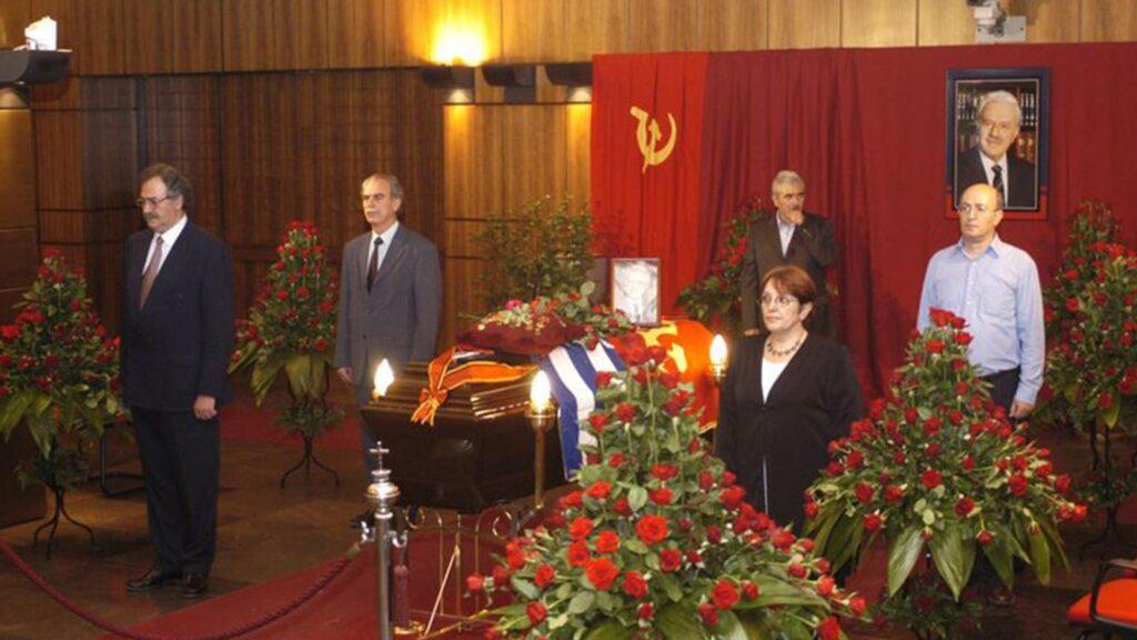 Χαρίλαος Φλωράκης - κηδεία