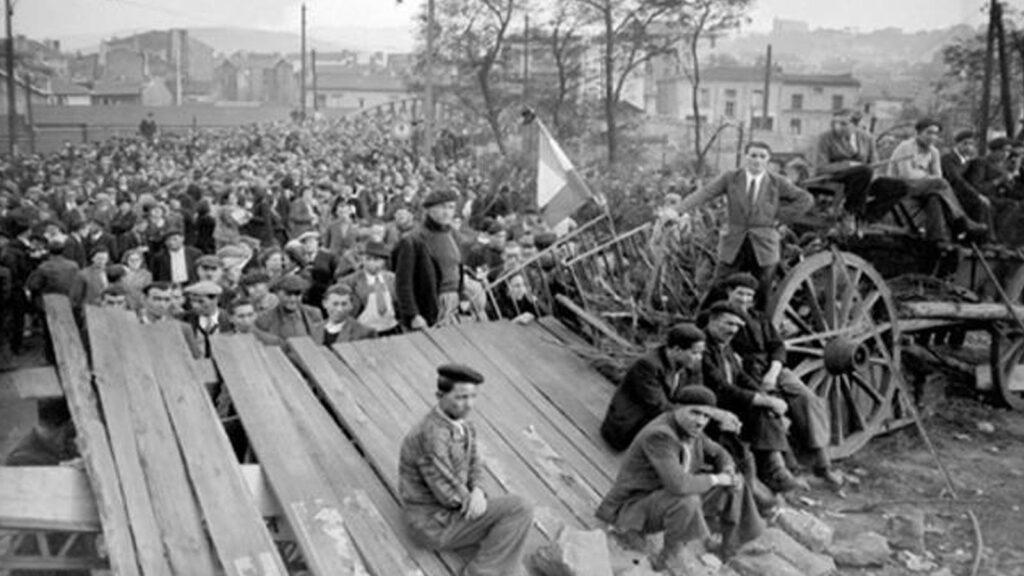 Γαλλία - Εργατικό Κίνημα - Απεργία των ανθρακωρύχων, 1941