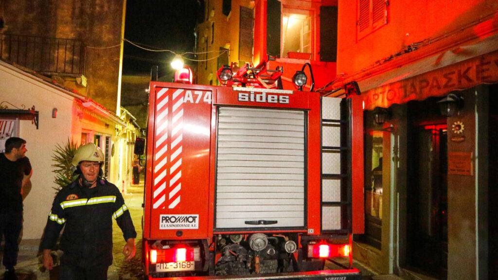 Ακατάλληλα (μεγάλα) τα Πυροσβεστικά Οχήματα για την Παλιά Πόλη της Κέρκυρας