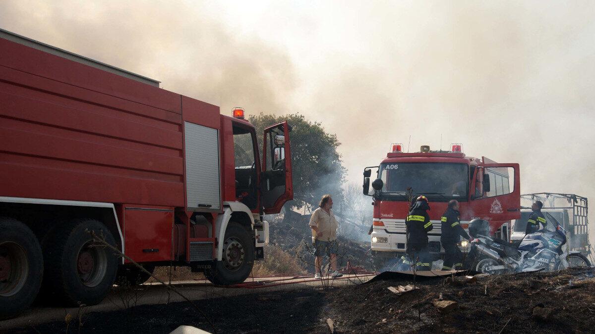 πυρκαγιά το 2011 στο ν. Ιωαννίνων