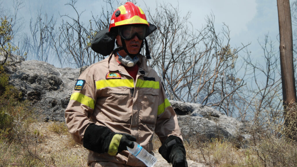 Πυρκαγιά στα νησιά του Ιονίου