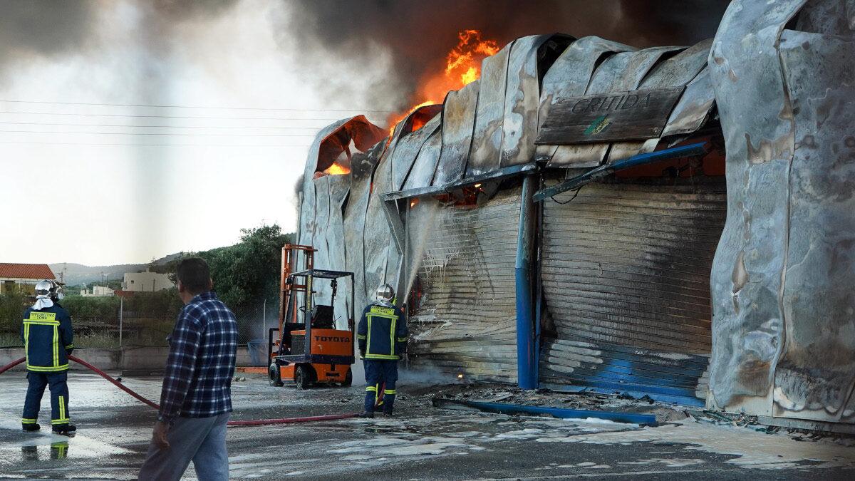 Πυρκαγιά Πυροσβεστική