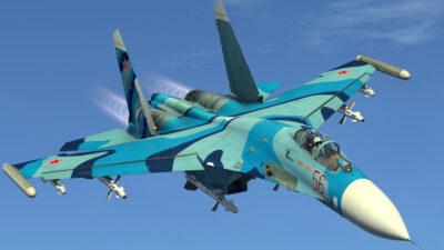 Ρωσικό μαχητικό Αεροσκάφος SUKHOI 27 (SU-27)