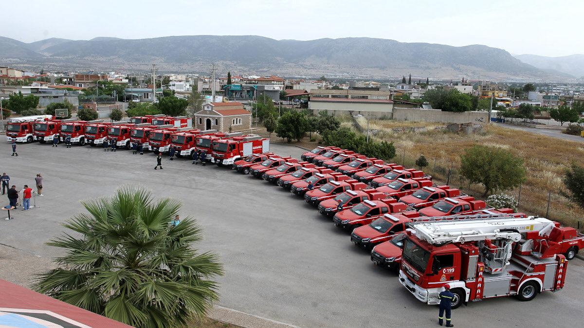 Τελετή Παράδοσης πυροσβεστικών οχημάτων