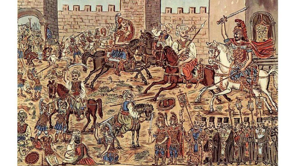 Θεόφιλος Παλαιολόγος: Η άλωση της Κωνσταντινούπολης