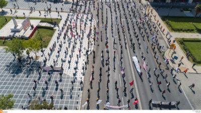 Εργατική Πρωτομαγιά 2020 στη Θεσσαλονίκη