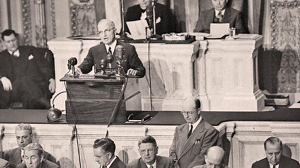 ΗΠΑ - Χάρι Τρούμαν - Δόγμα - αντικομμουνισμός
