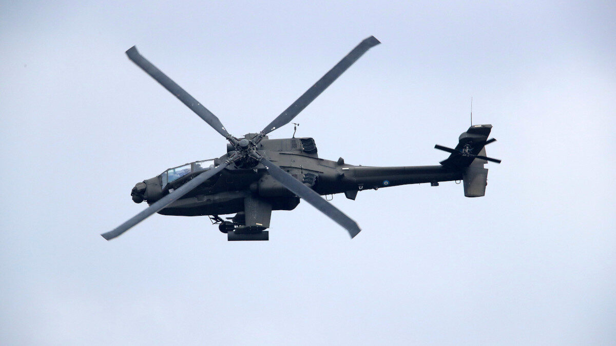 Στρατιωτική Άσκηση- ελικόπτερο