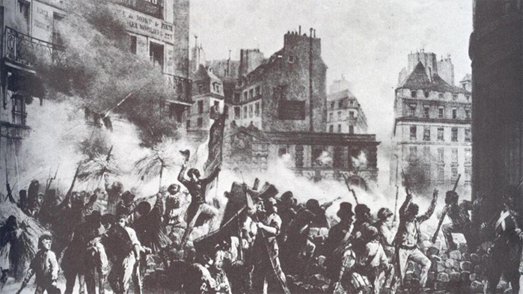 Εργατική τάξη - Παρίσι - εξέγερση, 1848
