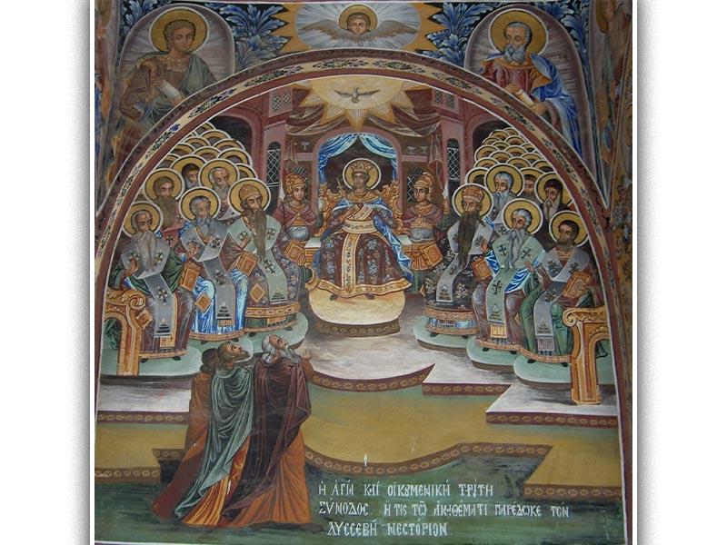 Θρησκεία - Χριστιανισμός - Βυζάντιο - Γ' Οικουμενική Σύνοδος, 413