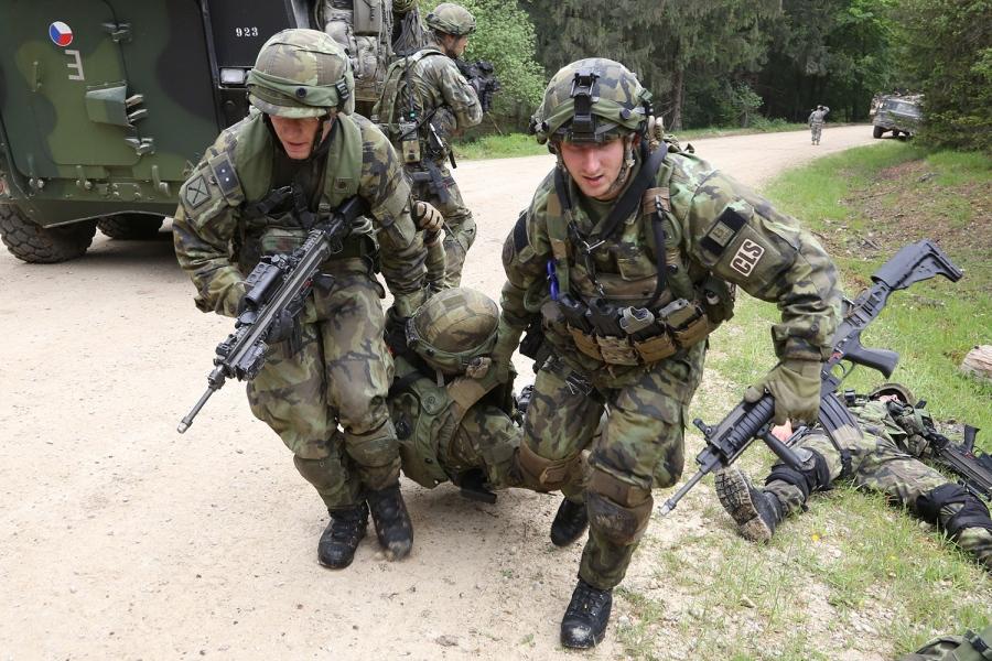 """Από παλιότερη Νατοϊκή άσκηση """"Atlantic Resolve"""" - Τσέχικος Στρατός"""