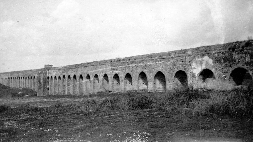 Το υδραγωγείο Aqua Traiana