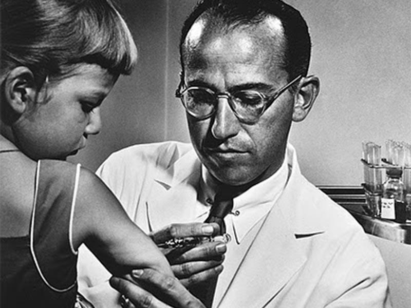 Επιστήμες - Ιατρική - Τζόνας Έντουαρντ Σολκ - εμβόλιο πολιομυελίτιδας