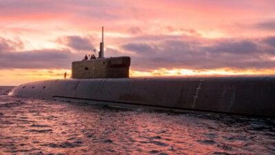 Υποβρύχιο του ρώσικου πολεμικού ναυτικού