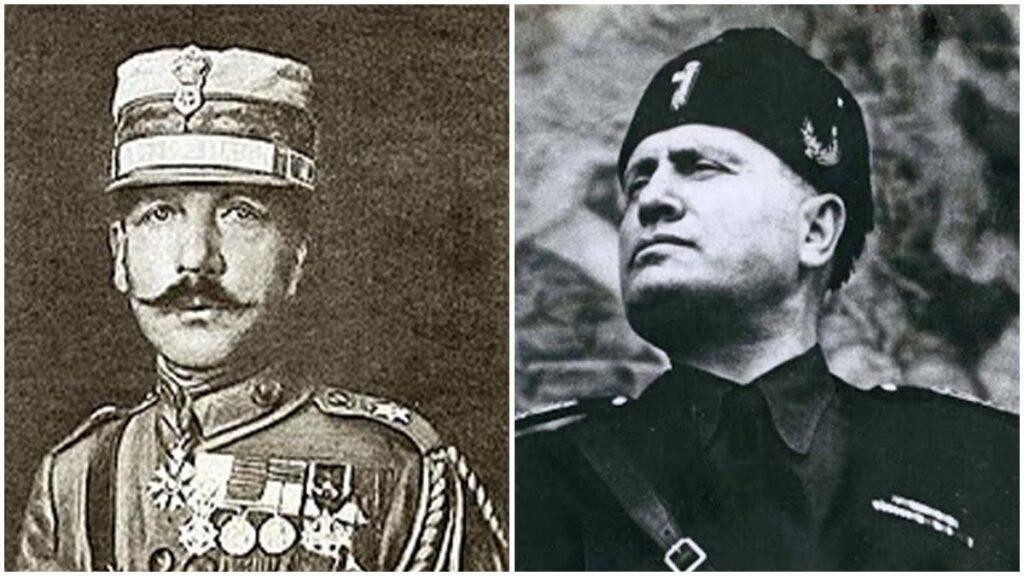 Ελλάδα - Ιταλία - δικτάτορες -Πάγκαλος - Μουσολίνι