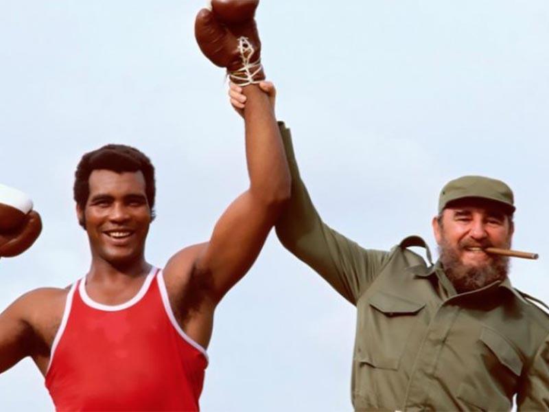 Αθλητισμός - Πυγμαχία - Τεόφιλο Στίβενσον - Φιντέλ Κάστρο - Κούβα