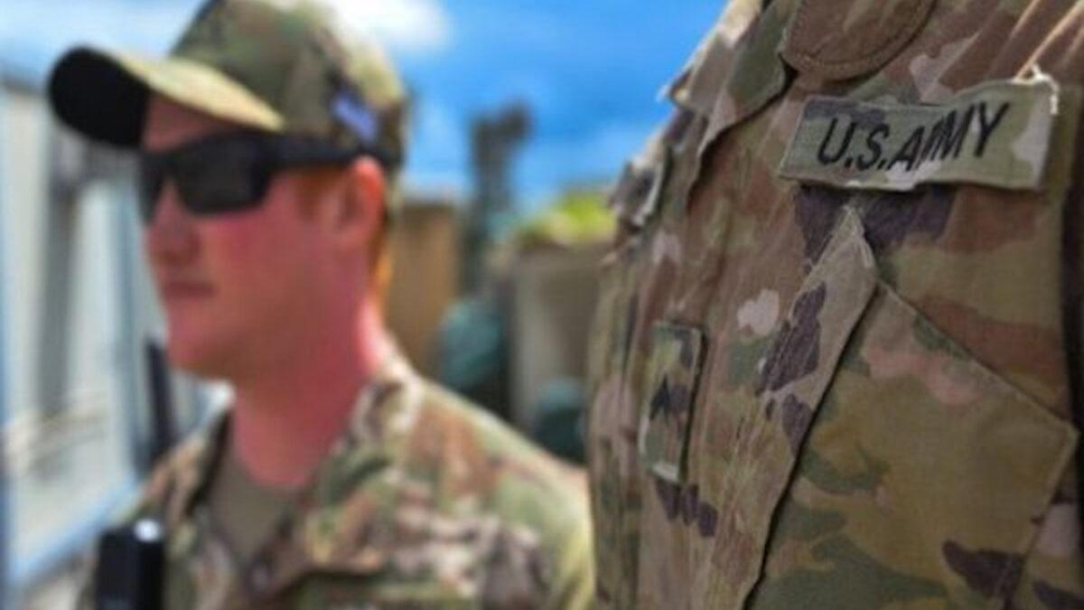 Αμερικανοί στρατιώτες στη Μοσούλη