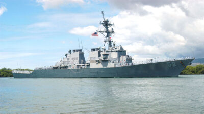 Αμερικανικό Αντιτορπιλικό USS RUSSELL