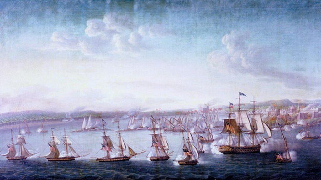 ΗΠΑ - χώρες ΒΔ Αφρικής - Α' Βερβερικός πόλεμος, 1805