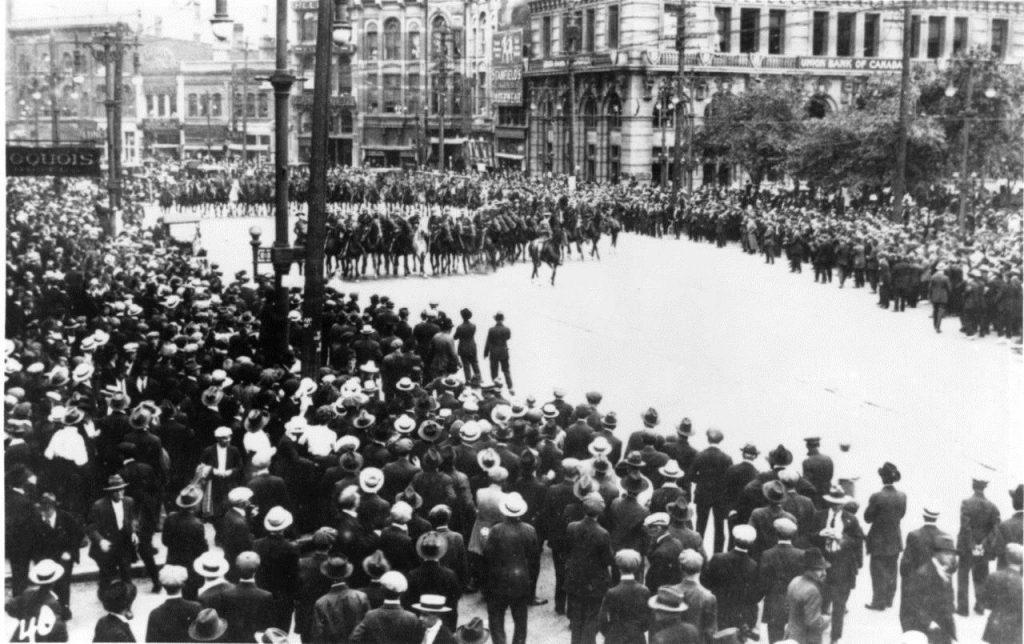 Εργατικό κίνημα - Καναδάς - Γουίνιπεγκ - Γενική απεργία, 1913